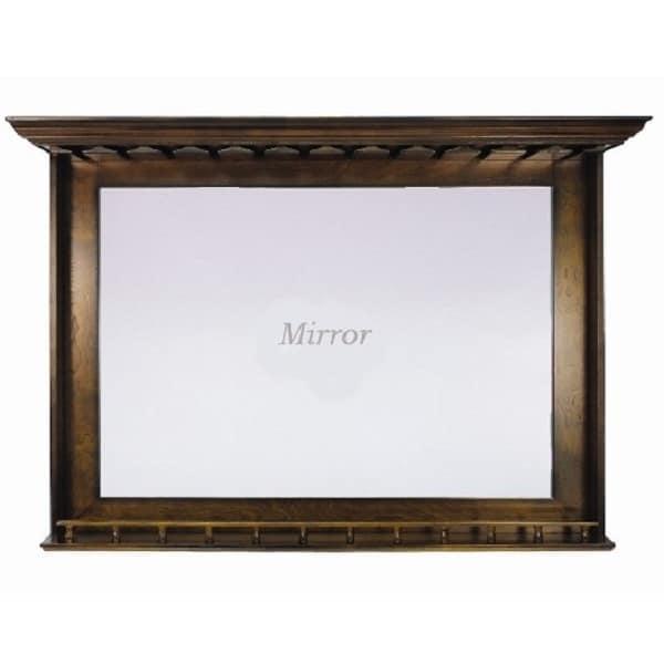Bar Mirror - Chestnut by R.A.M. Game Room
