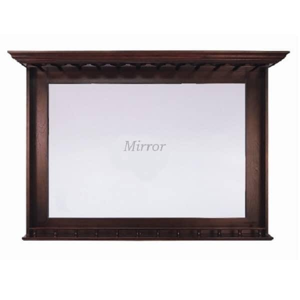 Bar Mirror - English Tudor by R.A.M. Game Room