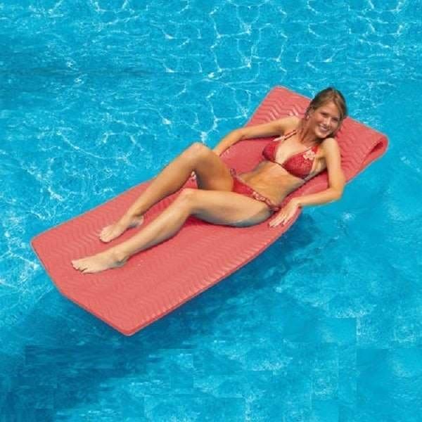 SofSkin Floating Mattress - Coral by Swimline