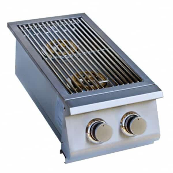 Double Side Burner - Slide-In by Titan Grills