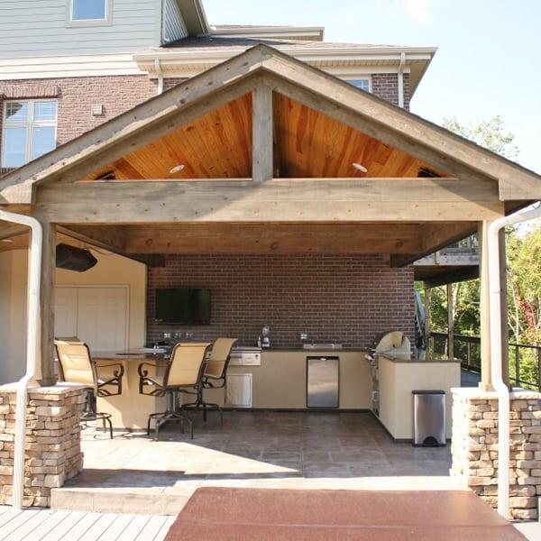 McGovern Outdoor Kitchen Project by Leisure Select