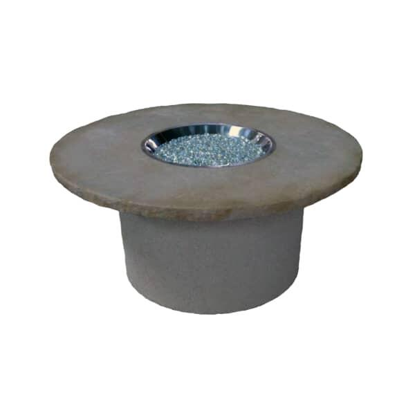 Brushwood Stucco Fire Pit by Leisure Select