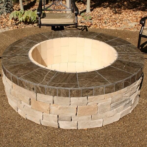 Heldman Fire Pit Project by Leisure Select