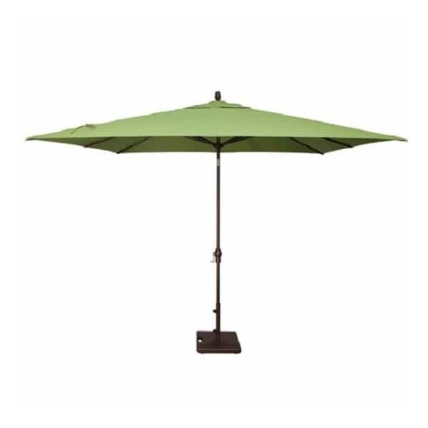8' x 10' Auto Tilt Umbrella by Treasure Garden