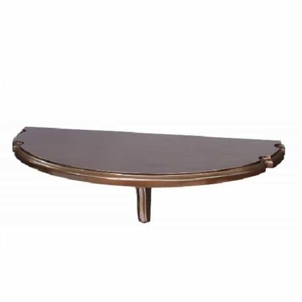 Wall Pub Table - Cappuccino by R.A.M. Game Room