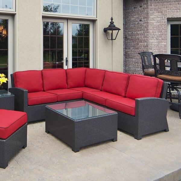 Cabo Wicker Sectional by North Cape