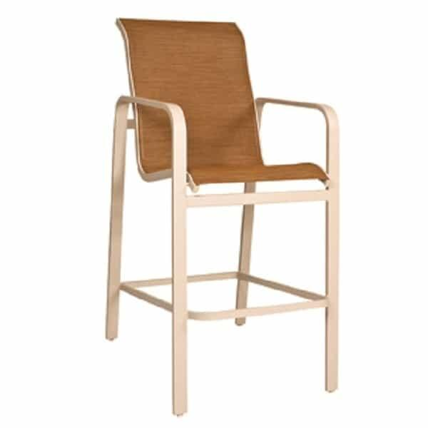 Landings Sling Bar Stool by Woodard