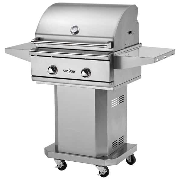 "26"" Outdoor Gas Grill by Delta Heat"