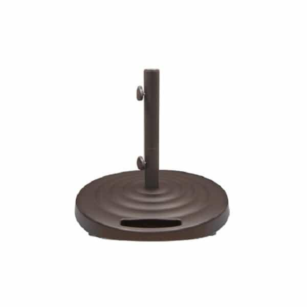 Monaco Round Umbrella Base by Treasure Garden