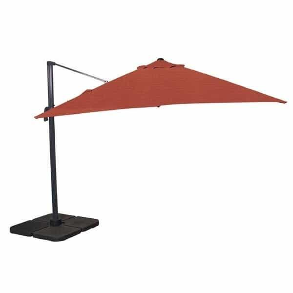 11.5 Ft. Cantilevered Umbrella by Leisure Select