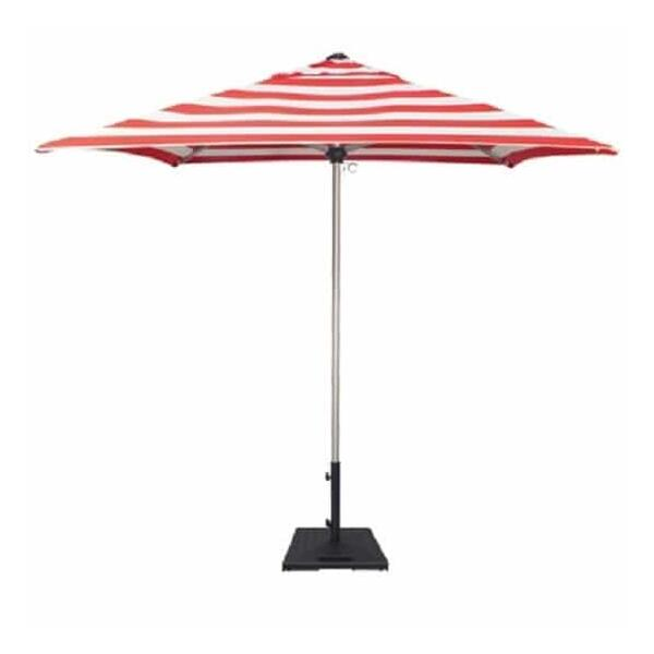 7' Square Commercial Umbrella by Treasure Garden