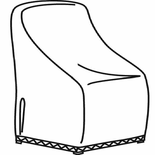 X-Large Club or Lounge Chair Cover by Treasure Garden