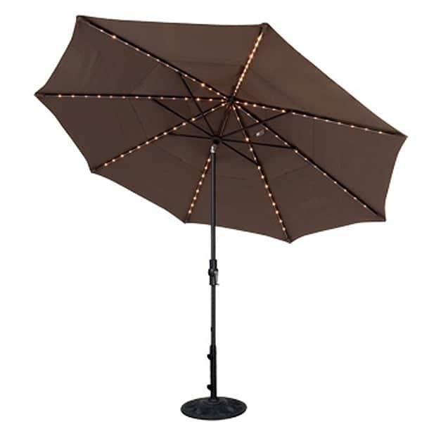11' Starlight Collar Tilt Umbrella by Treasure Garden
