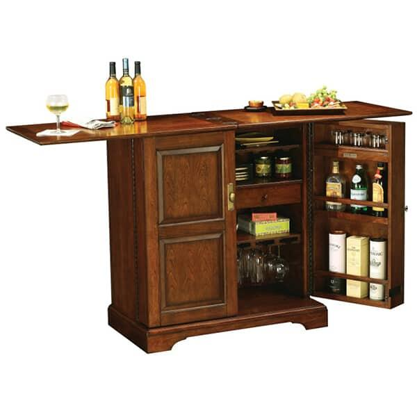 Lodi Wine Bar Cabinet By Howard Miller