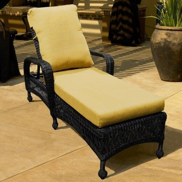 Charleston Single Adjustable Chaise Lounge by North Cape