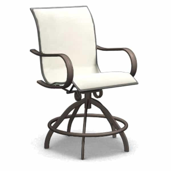 Holly Hill Swivel Rocker Balcony Stool by Homecrest