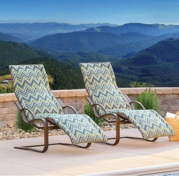 Lana Spring Base Chaise by Homecrest