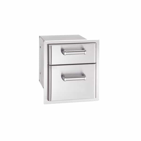 "14"" Double Drawer by Fire Magic Grills"