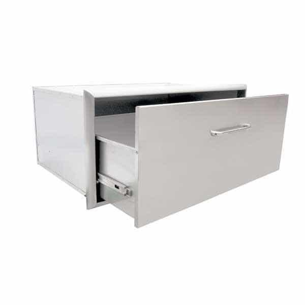"24"" Single Storage Drawer by Saber Grills"