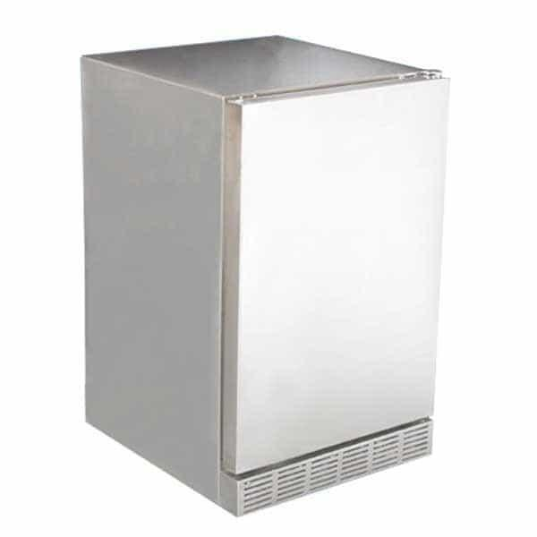Outdoor Stainless Steel Refrigerator by Saber Grills