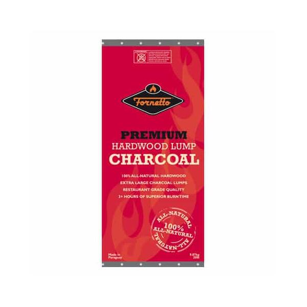 Premium Hardwood Lump Charcoal by Fornetto