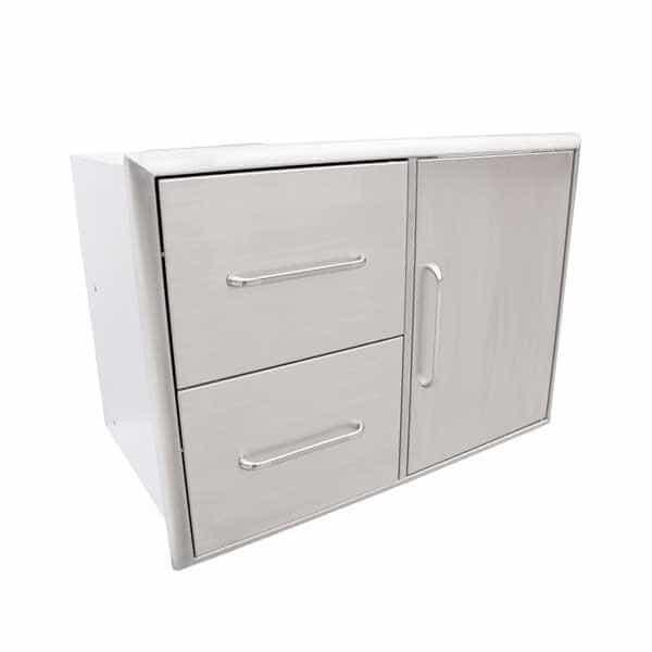 Double Drawer & Door Combo by Saber Grills