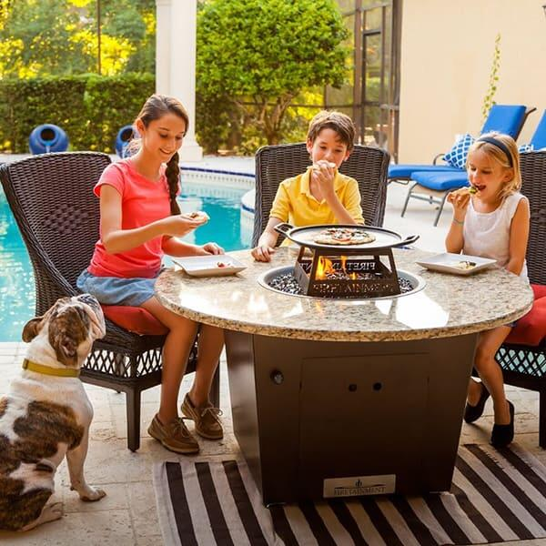 "Riviera 48"" Fire Pit Table by Firetainment"