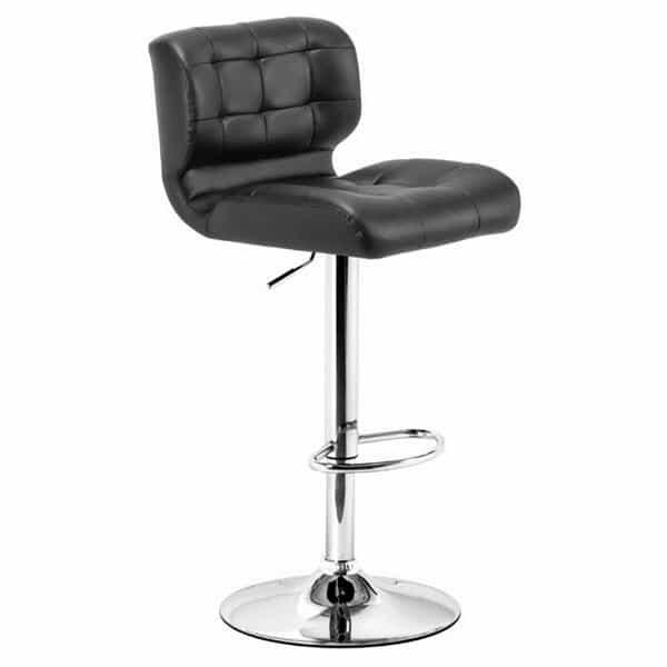 Formula Bar Stool - Black by Zuo Modern