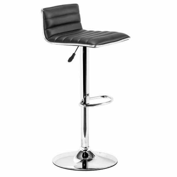 Equation Bar Stool - Black by Zuo Modern