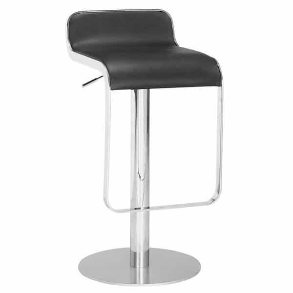 Equino Bar Stool - Black by Zuo Modern