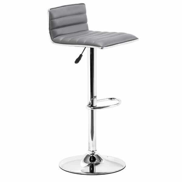 Equation Bar Stool - Gray by Zuo Modern