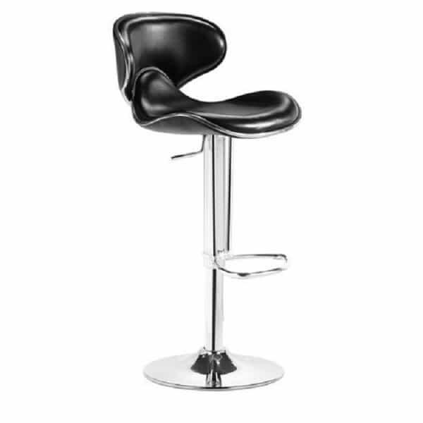 Fly Bar Stool - Black by Zuo Modern