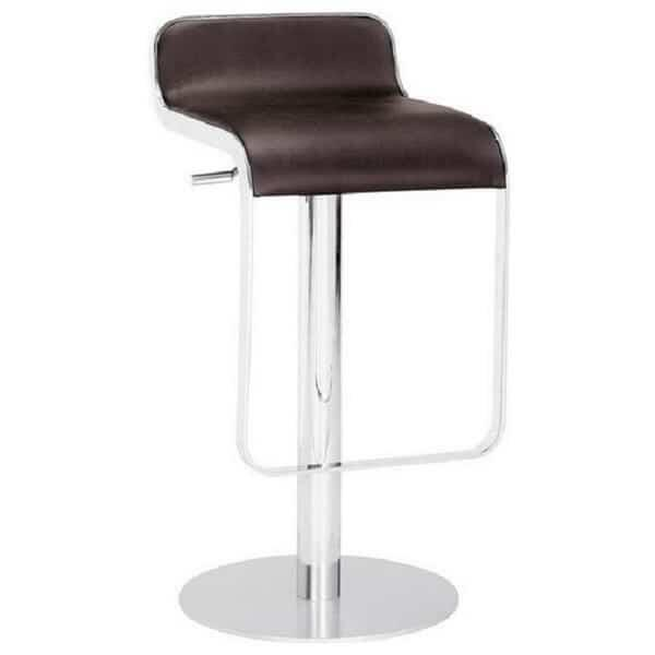 Equino Bar Stool - Espresso by Zuo Modern