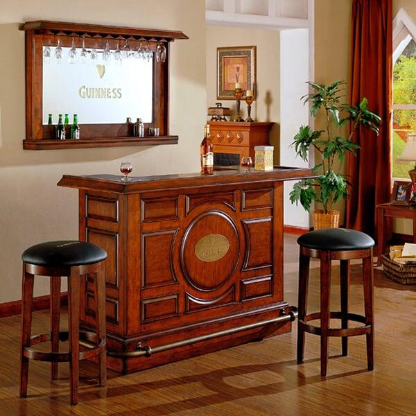 Guinness Raised Panel Bar by ECI Furniture