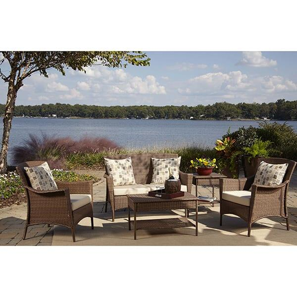 Key Biscayne Wicker Deep Seating by Panama Jack