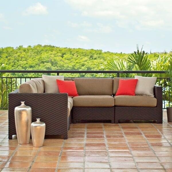 La Vie Sectional Deep Seating by Telescope Casual