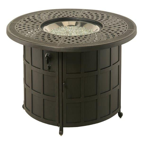 Berkshire Enclosed Gas Fire Pit by Hanamint