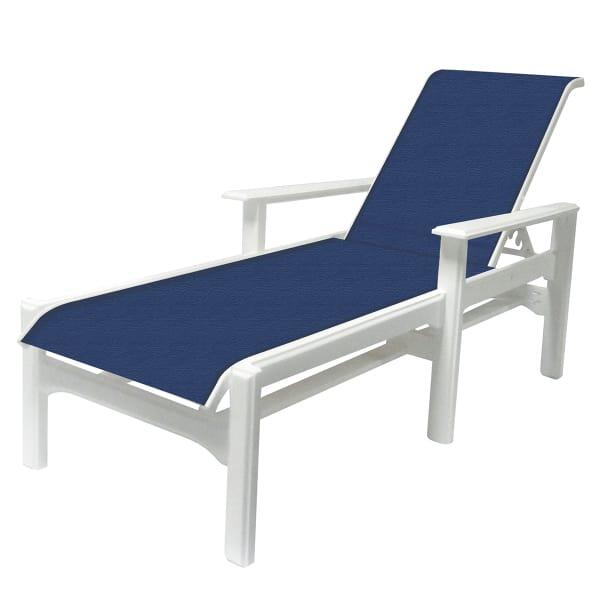 Sling Chaise Lounge Outdoor Part - 41: Cape Cod Sling Chaise Lounge By Windward