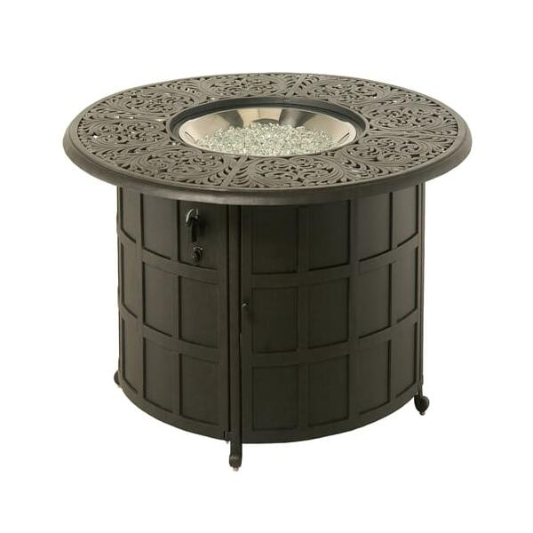 Chateau Enclosed Gas Fire Pit by Hanamint