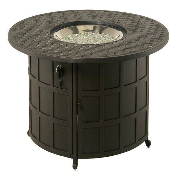 Newport Enclosed Gas Fire Pit by Hanamint