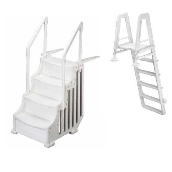 "30"" Mighty Entry Step w/ Outside Ladder by Family Leisure"