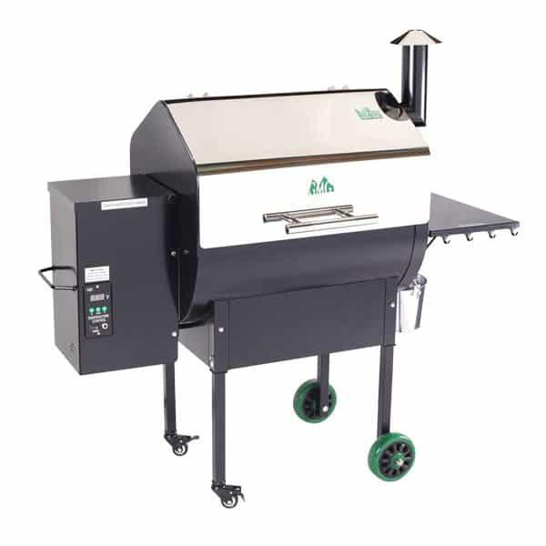 Daniel Boone Stainless Steel Pellet Grill by Green Mountain