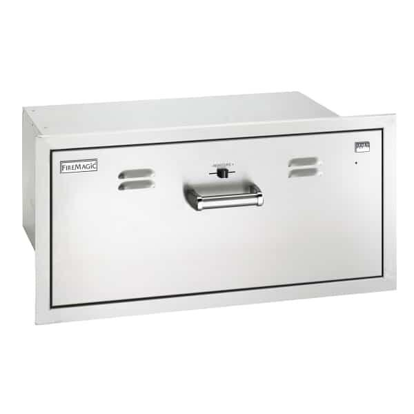 Electric Warming Drawer by Fire Magic Grills