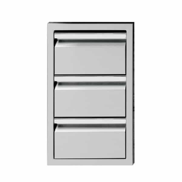triple storage drawer