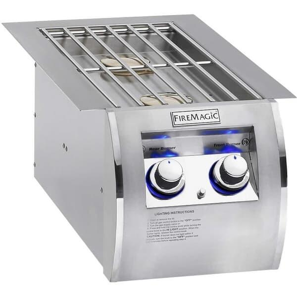 Echelon Diamond Style Double Side Burner by Fire Magic Grills
