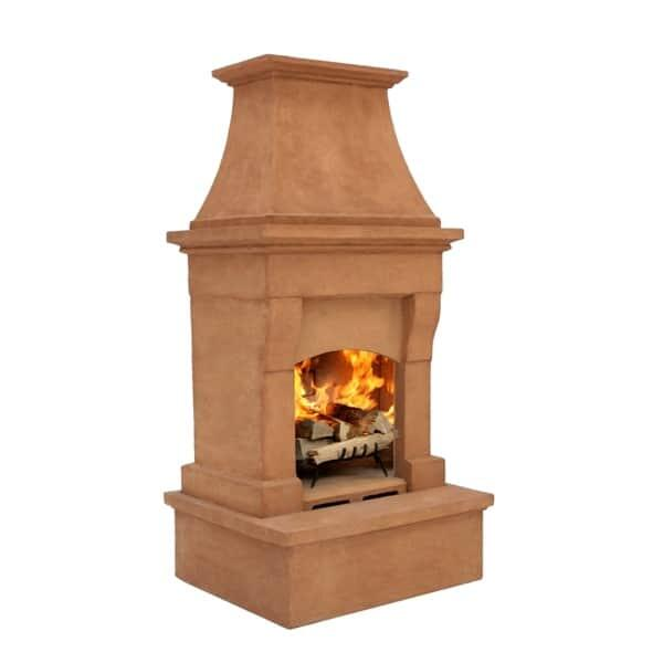 Outdoor fireplaces wood burning pictures to pin on Prefab outdoor wood burning fireplace
