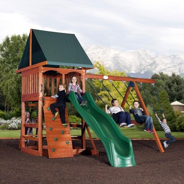 Acadia Play Set By Backyard Adventures