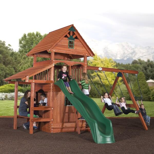 Yosemite Play Set by Backyard Adventures