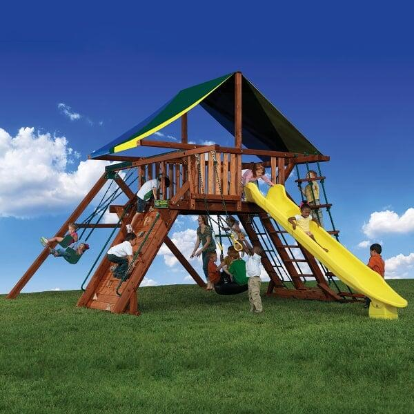 Olympian Peak 1 Play Set by Backyard Adventures