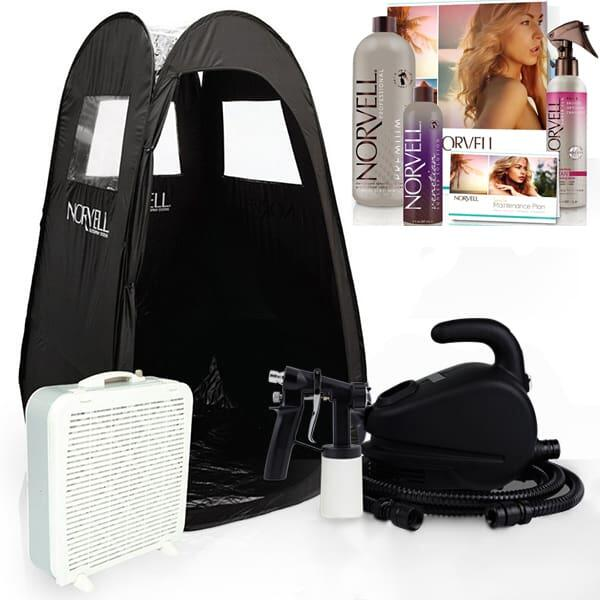 Spray Tan Salon Mobile Spray Kit by Norvell